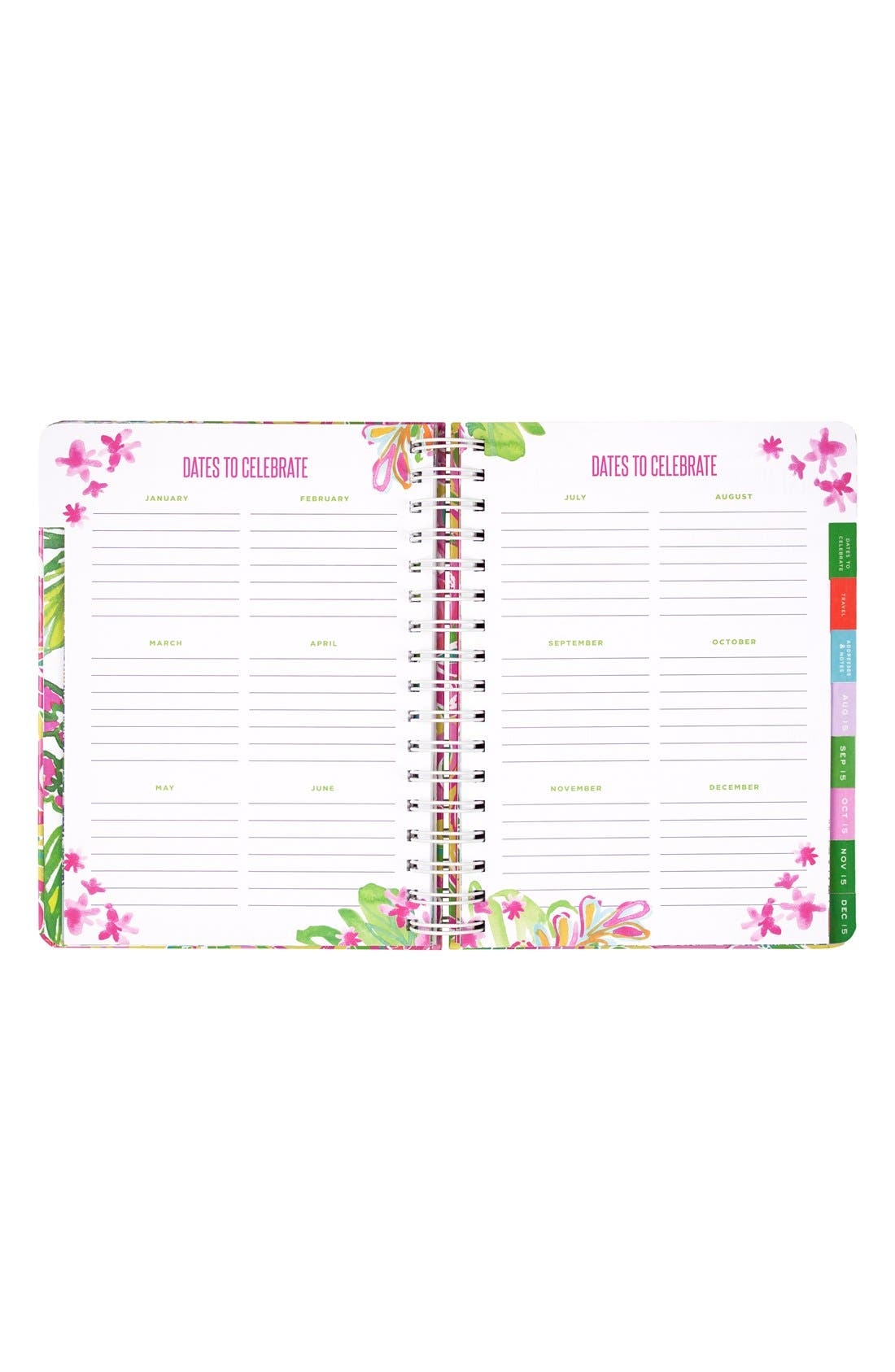 Alternate Image 3  - Lilly Pulitzer® Large 17-Month Planner
