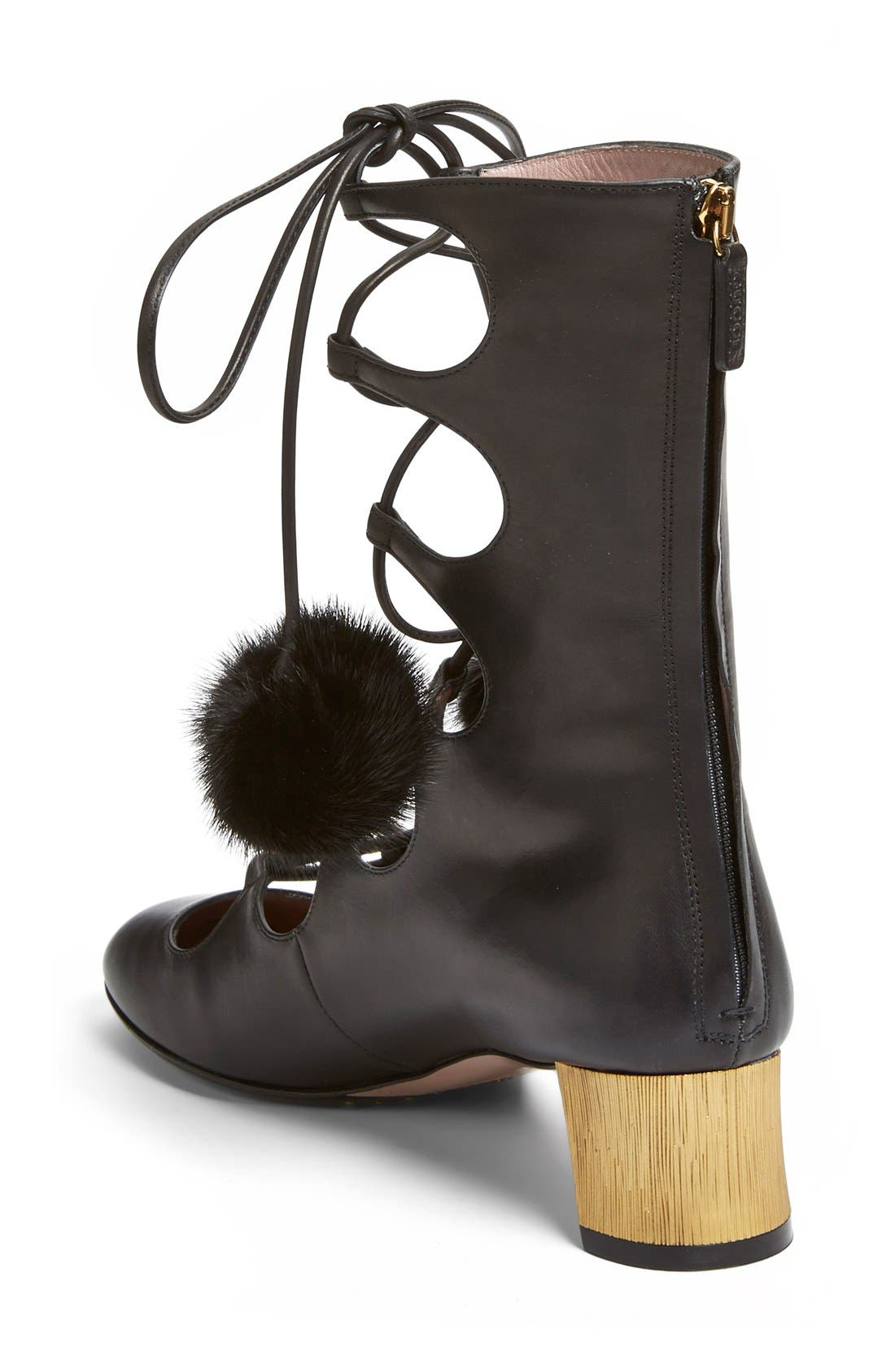 Alternate Image 2  - Gucci 'Heloise' Lace-Up Boot (Women)