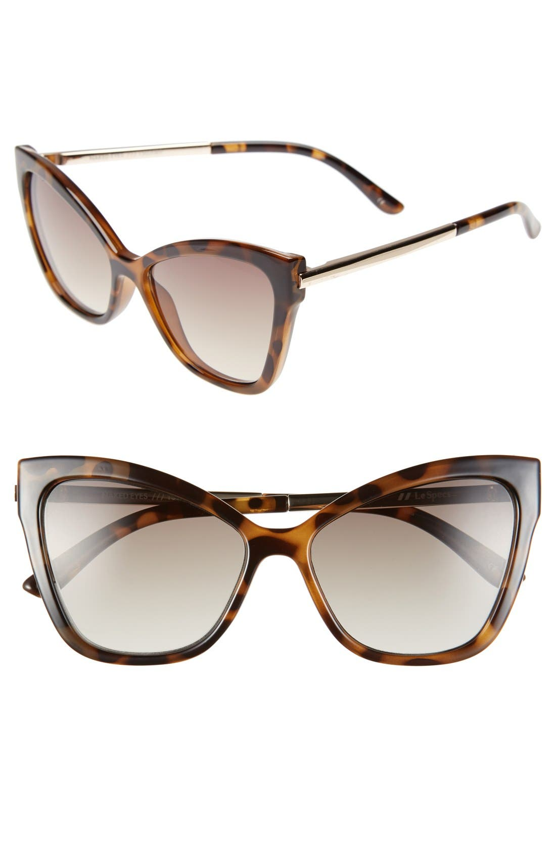 Main Image - Le Specs 'Naked Eyes' 56mm Cat Eye Sunglasses