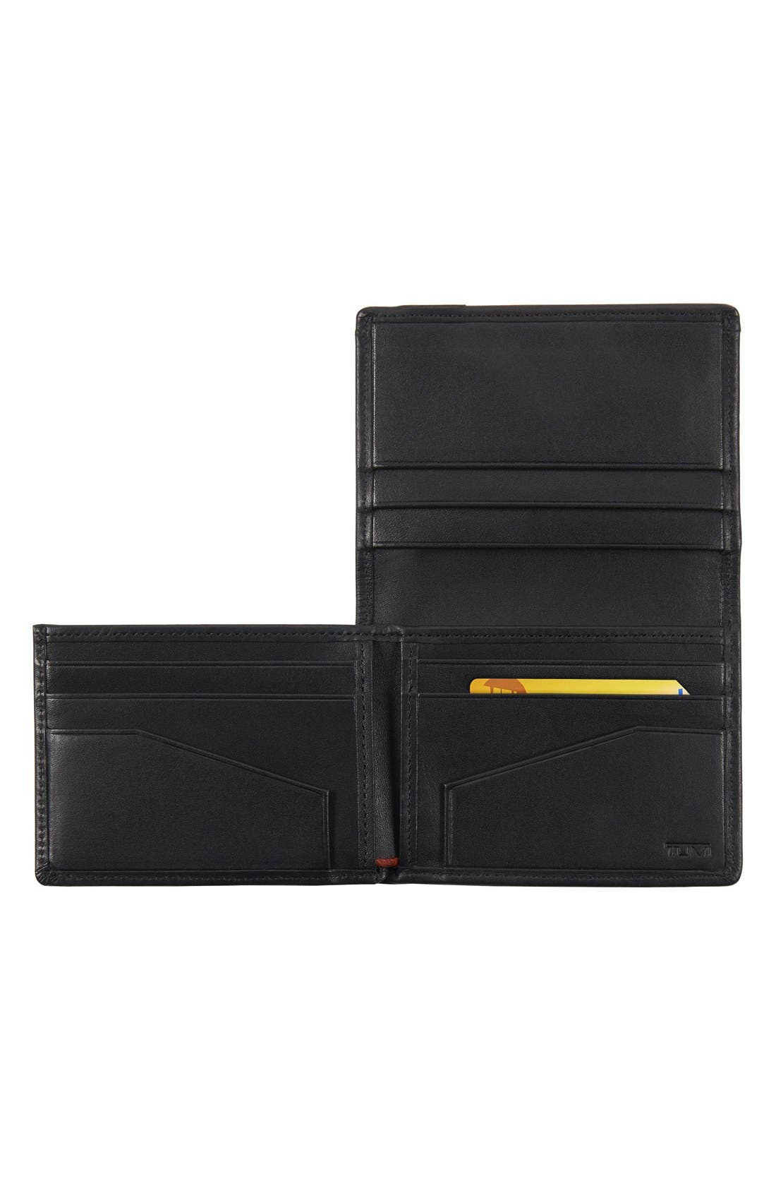 Alpha ID Lock<sup>™</sup> Shielded L-Fold ID Wallet,                             Alternate thumbnail 2, color,                             Black
