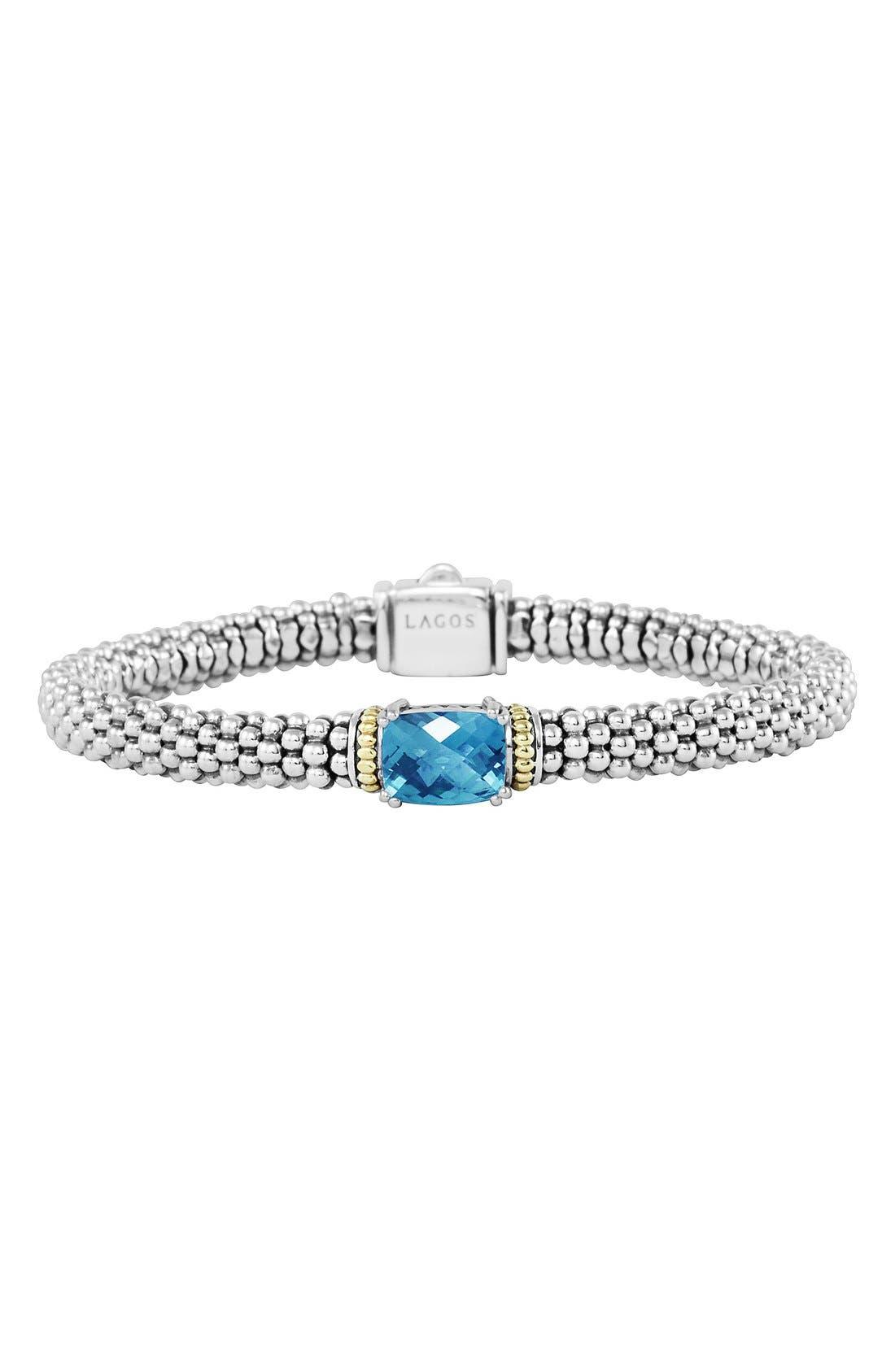 Alternate Image 1 Selected - LAGOS 'Prism' Rope Station Bracelet