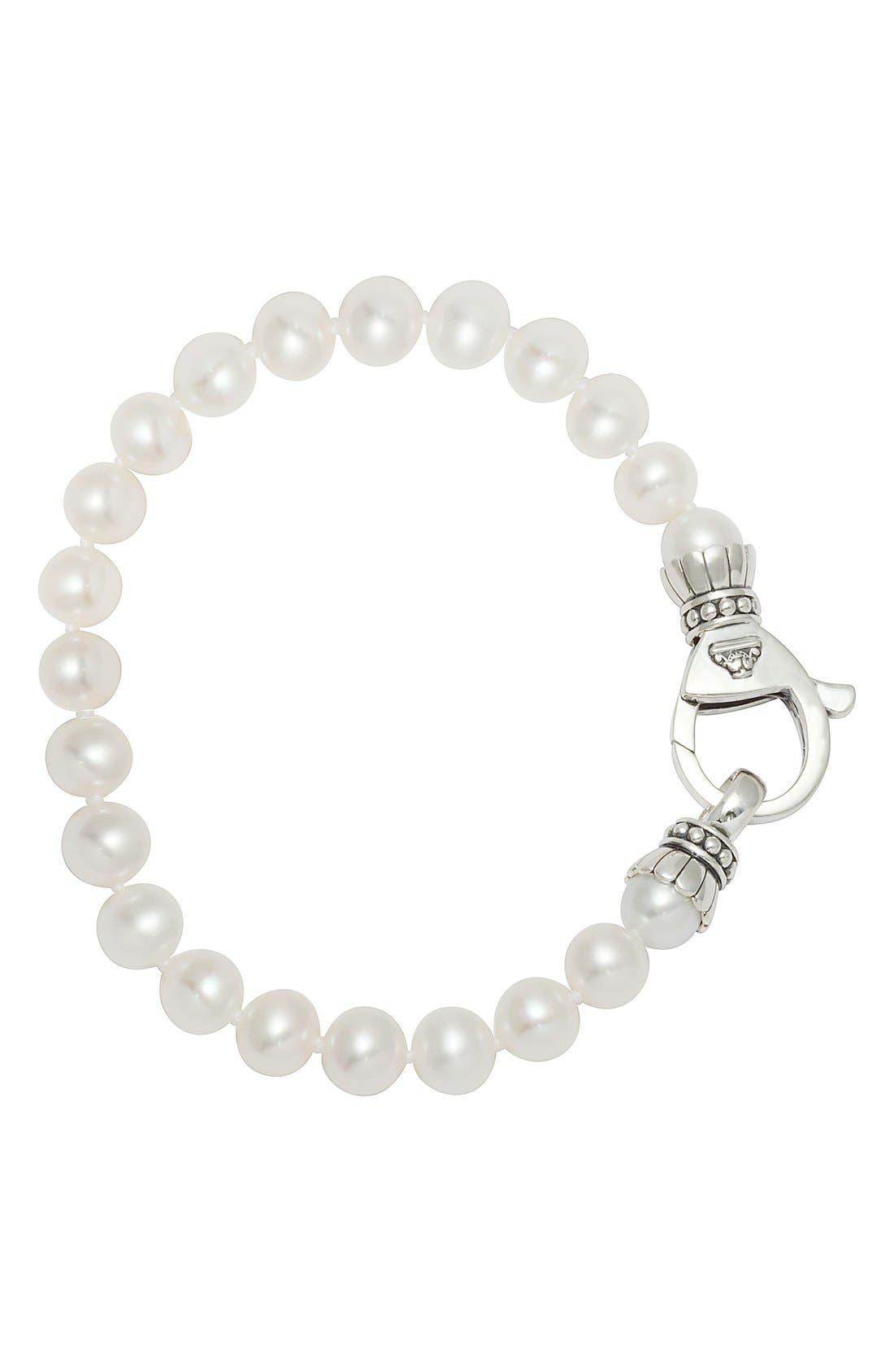LAGOS Luna 7.5mm Pearl Bracelet