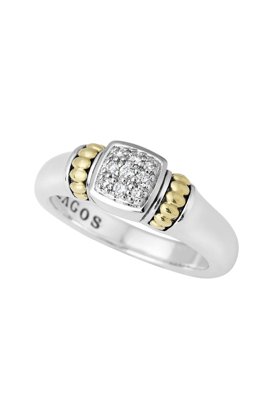 Main Image - LAGOS Caviar Diamond Ring