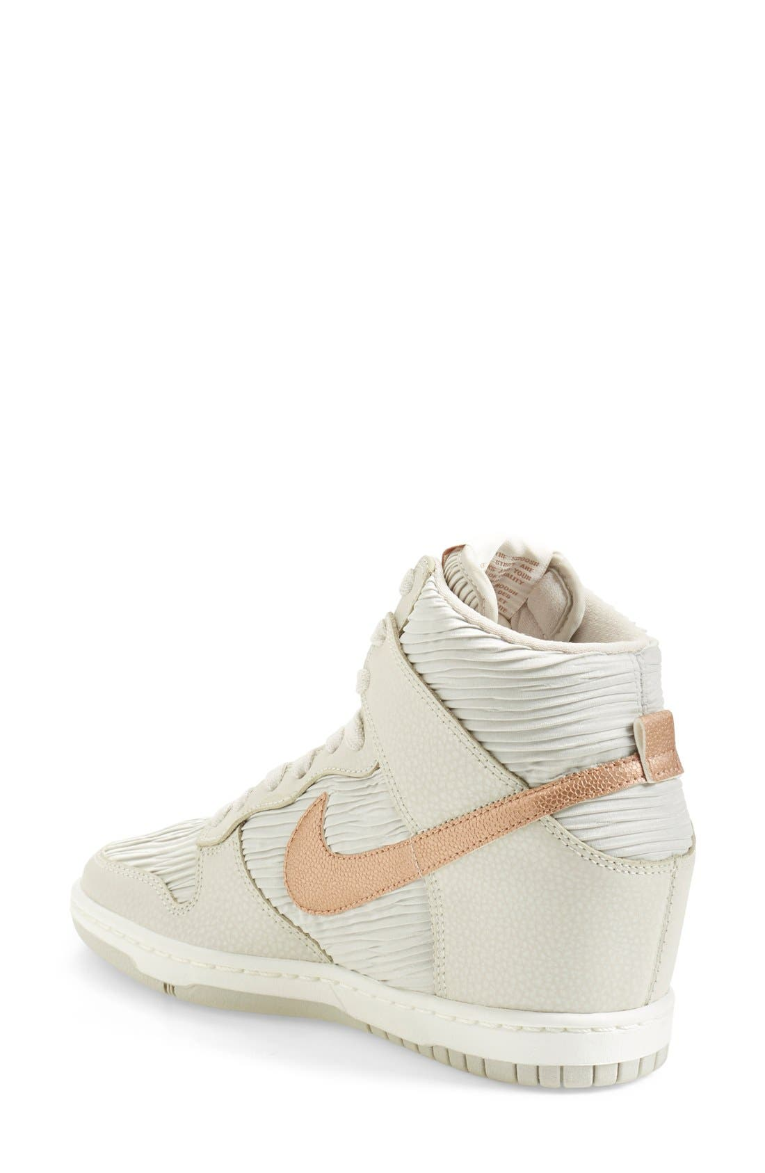 Alternate Image 2  - Nike 'Dunk Sky Hi' Wedge Sneaker (Women)