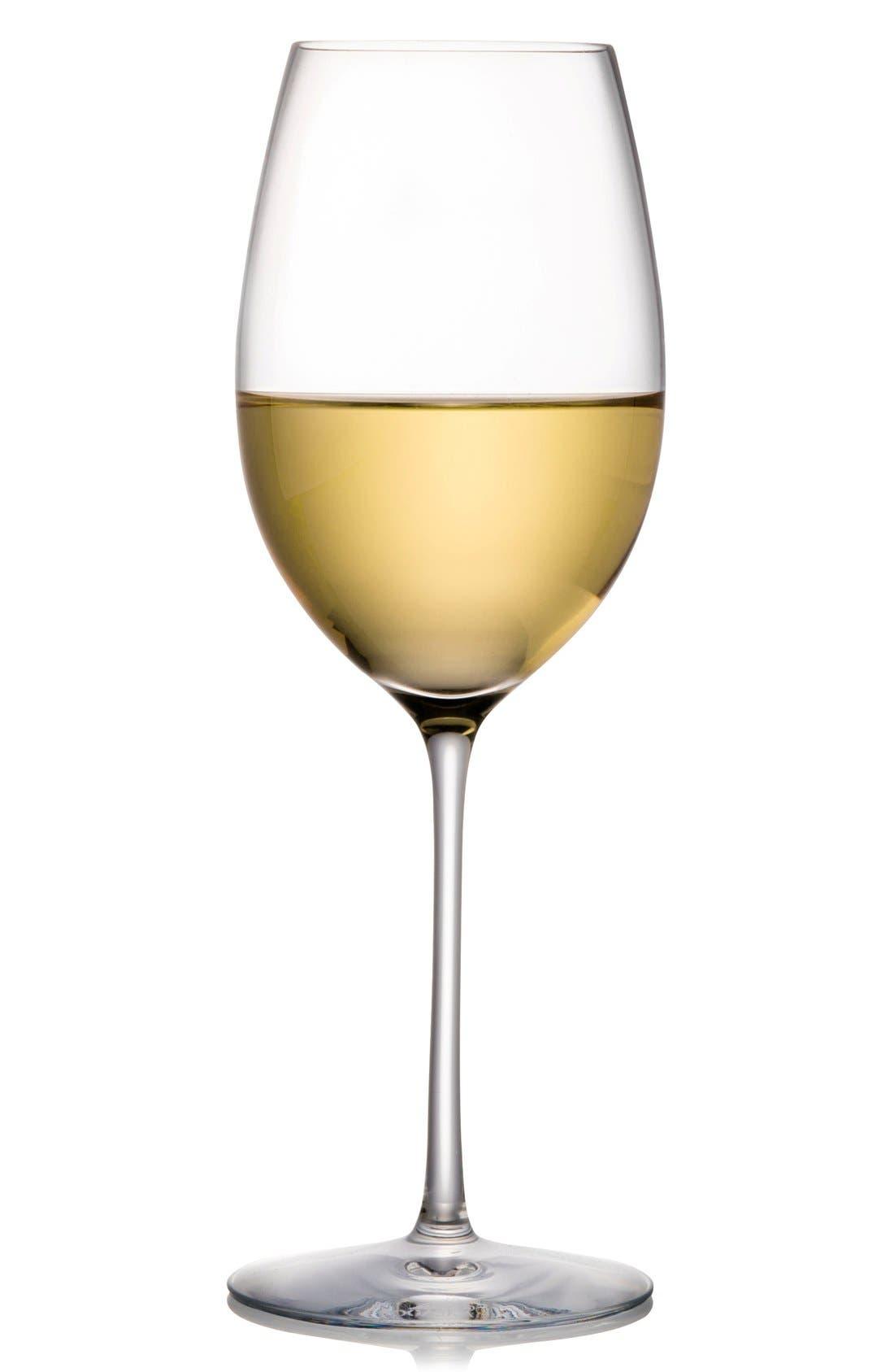 Expert Set of 2 Chardonnay Glasses,                         Main,                         color, White