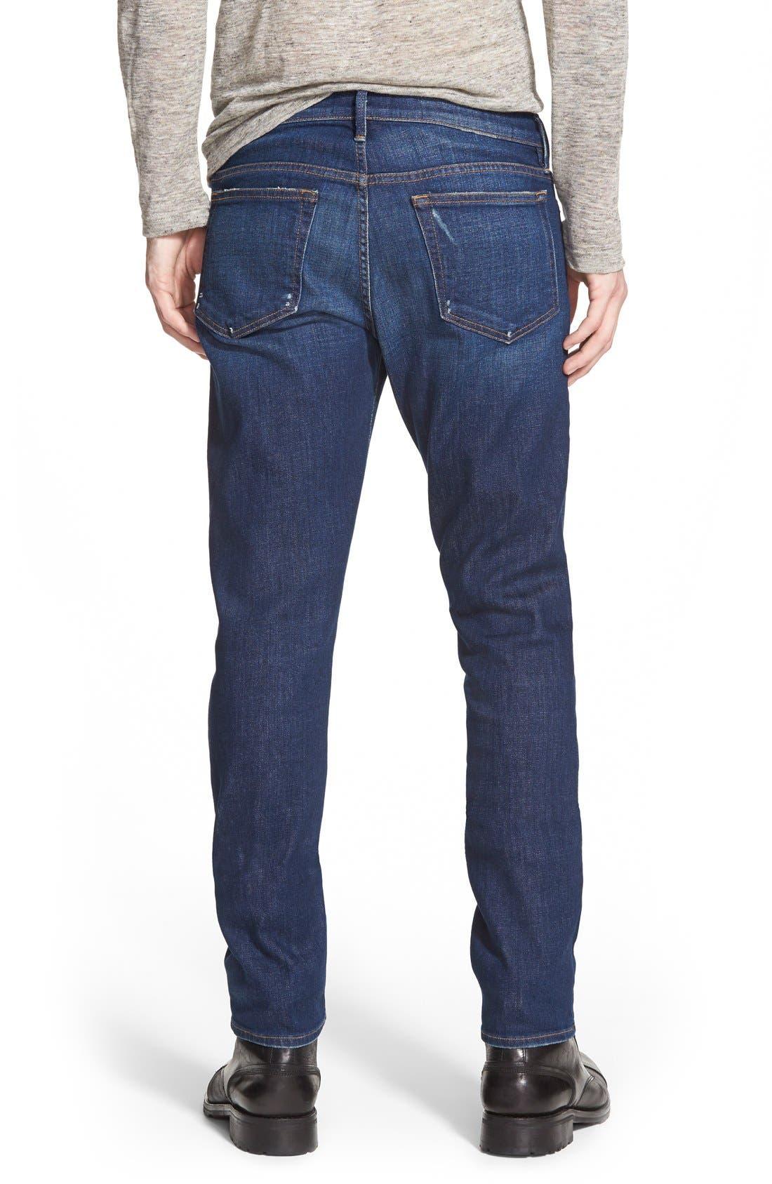 Alternate Image 2  - FRAME L'Homme Slim Fit Jeans (Niagra)