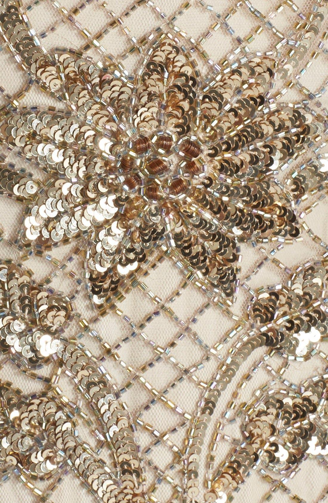 Alternate Image 3  - Needle & Thread Embellished Mesh Gown