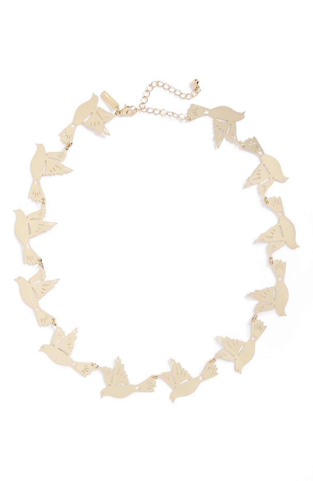 Alternate Image 1 Selected - Topshop Bird Collar Necklace