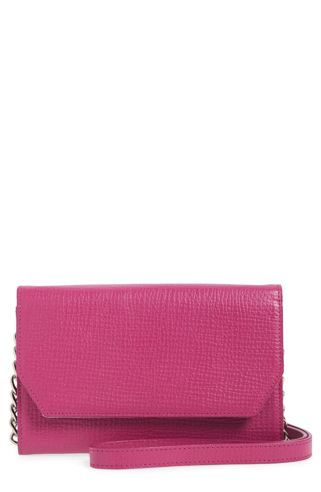Main Image - Halogen Leather Crossbody Bag