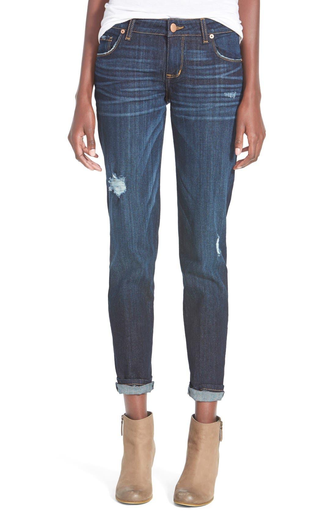 Alternate Image 1 Selected - STS Blue 'Joey' Boyfriend Jeans (Sonoma Wash)