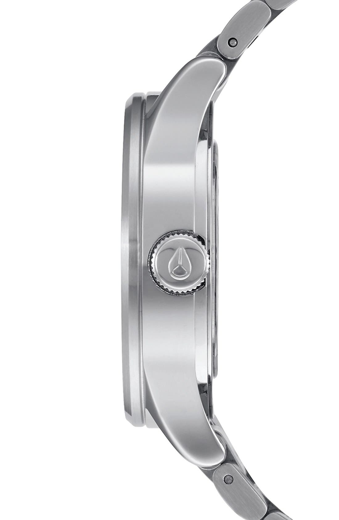 Alternate Image 3  - Nixon 'The Sentry' Bracelet Watch, 38mm