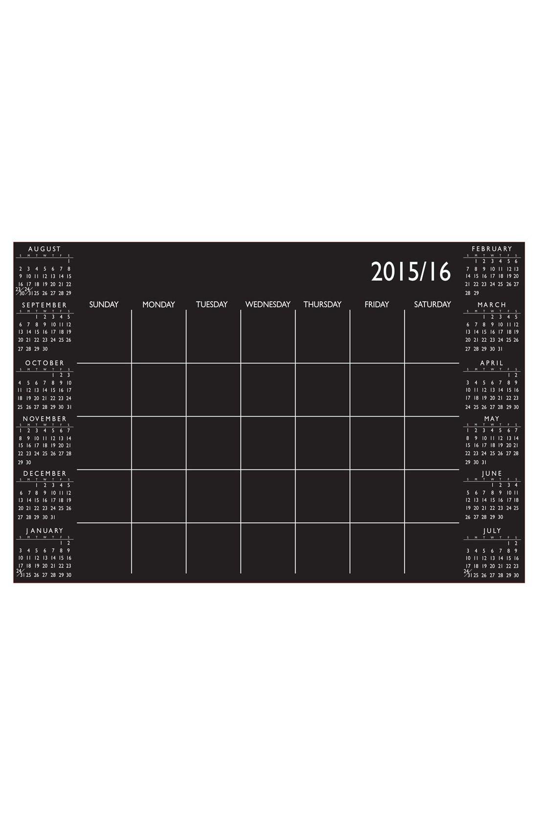 Alternate Image 1 Selected - Wallpops Academic Dry Erase Calendar Wall Decal