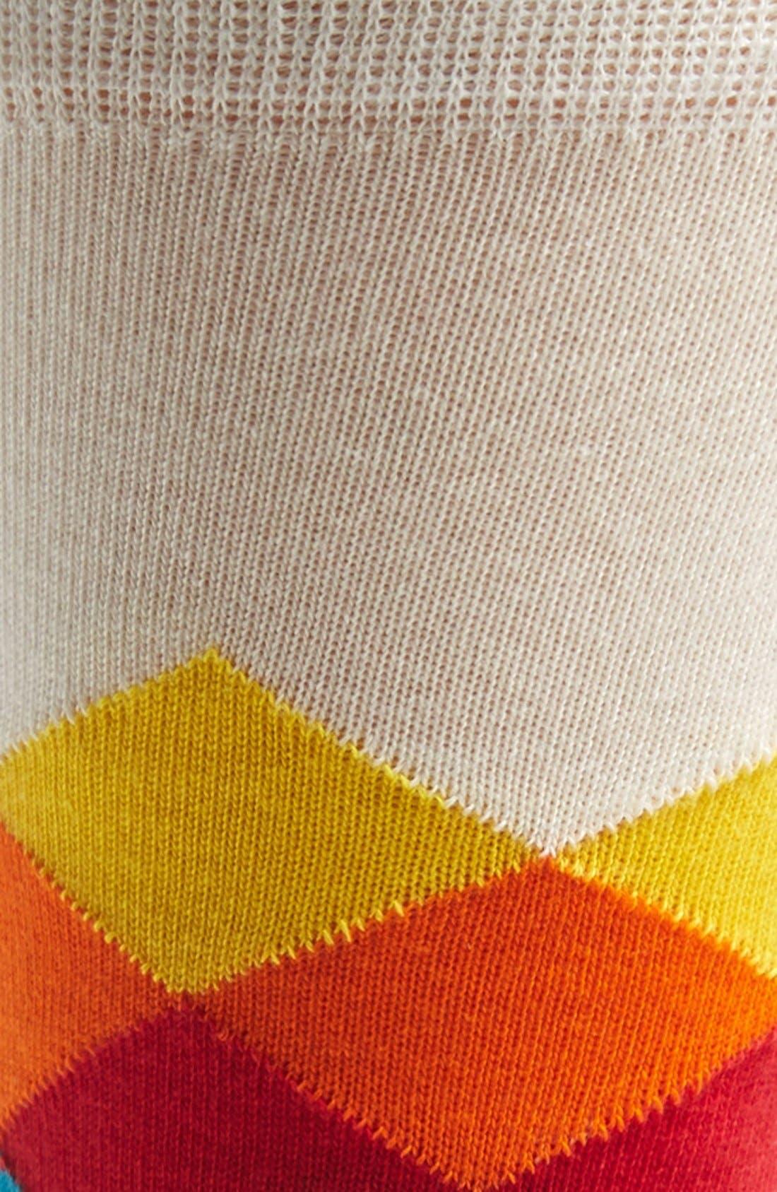 Alternate Image 2  - Happy Socks Faded Diamond Socks (3 for $30)