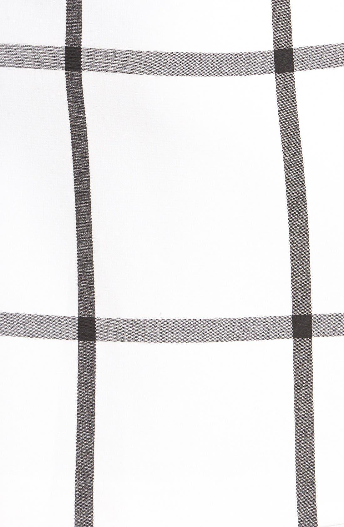 Alternate Image 4  - Halogen® Pleat Front A-Line Skirt