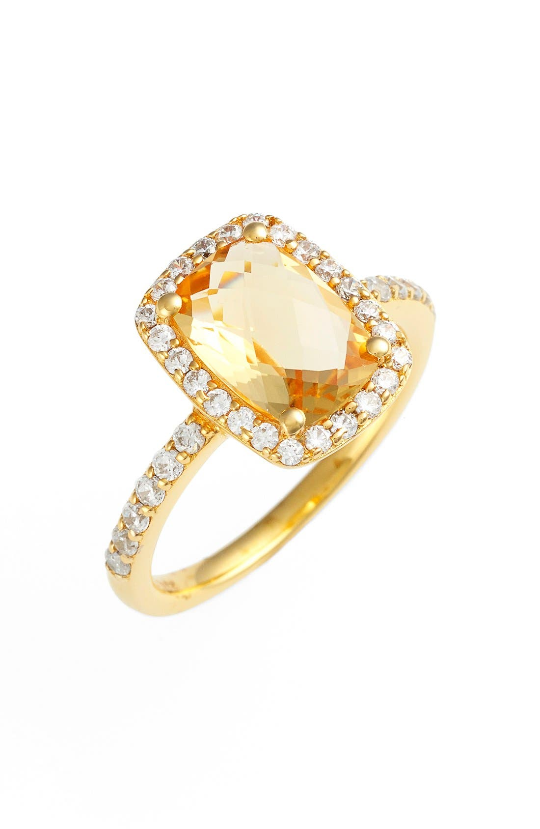 Alternate Image 1 Selected - Lafonn 'Aria' Rectangle Cushion Cut Ring