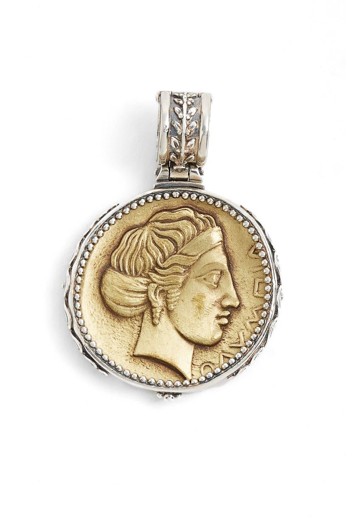 KONSTANTINO Kerma Coin Pendant