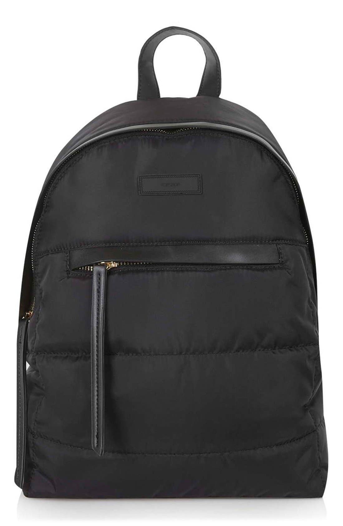Alternate Image 1 Selected - Topshop Nylon Backpack