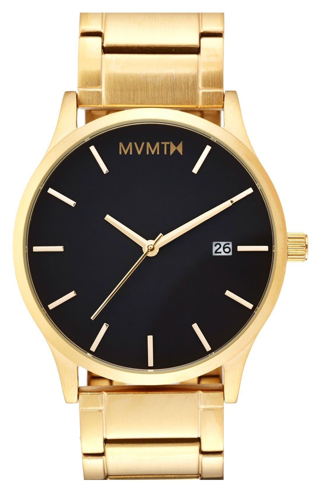 Main Image - MVMT Bracelet Watch, 45mm