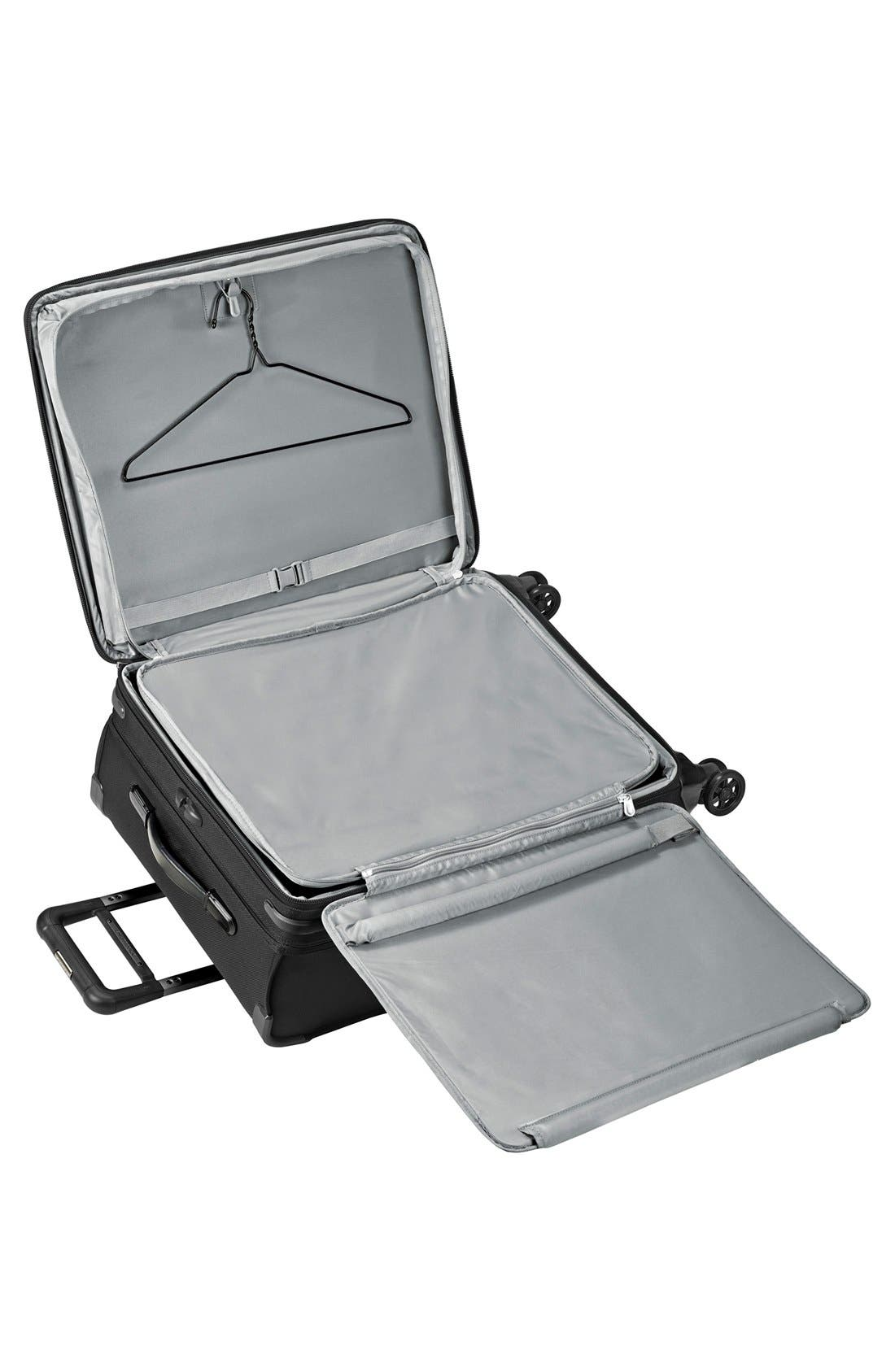 'Baseline' Medium Expandable Rolling Packing Case,                             Alternate thumbnail 3, color,                             Black