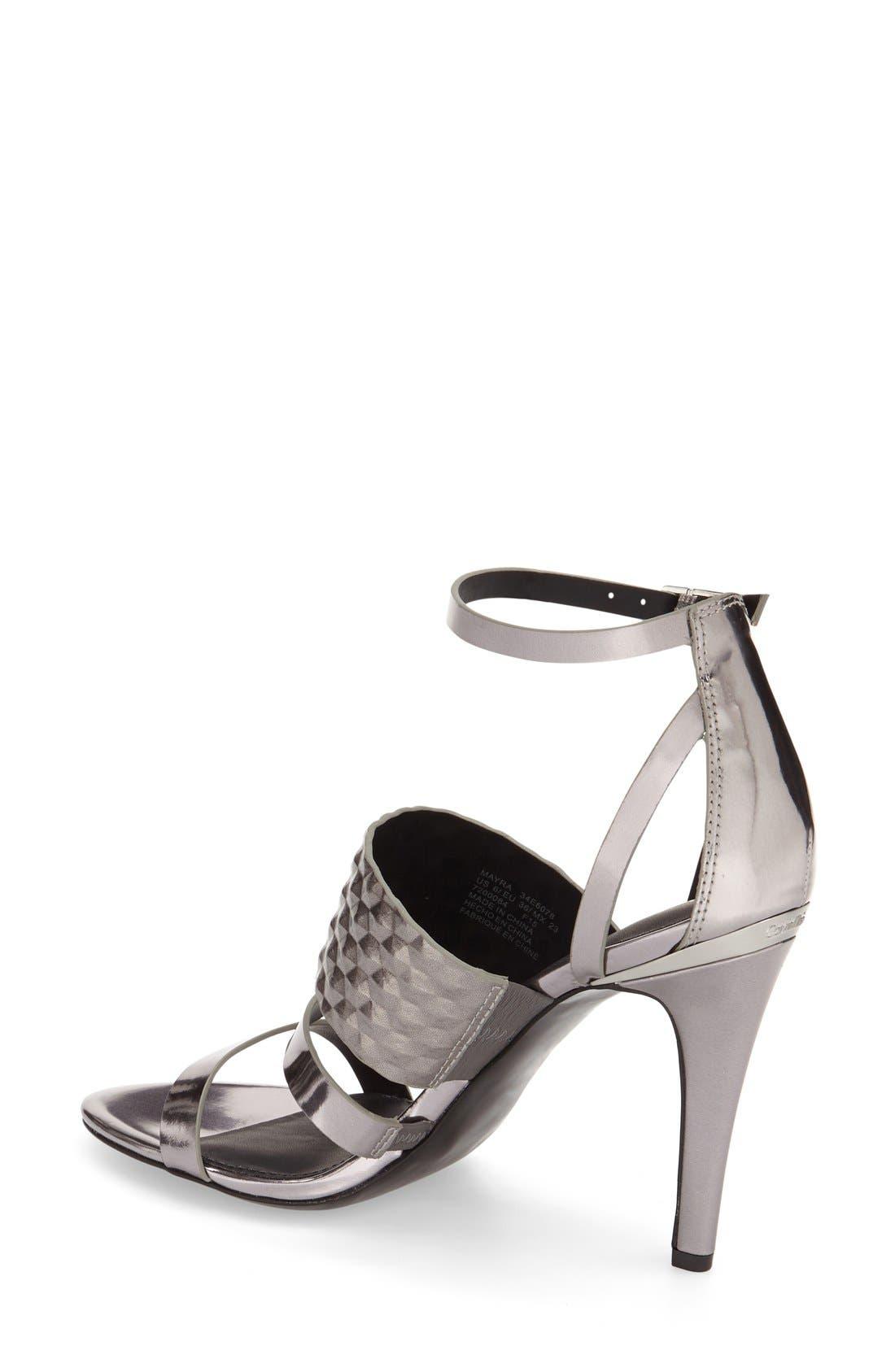 Alternate Image 2  - Calvin Klein 'Mayra' Cage Sandal (Women)