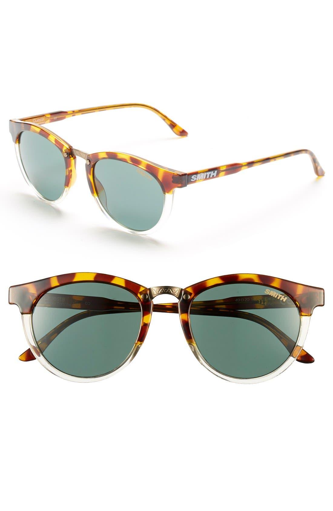 SMITH Questa 49mm Cat Eye Sunglasses