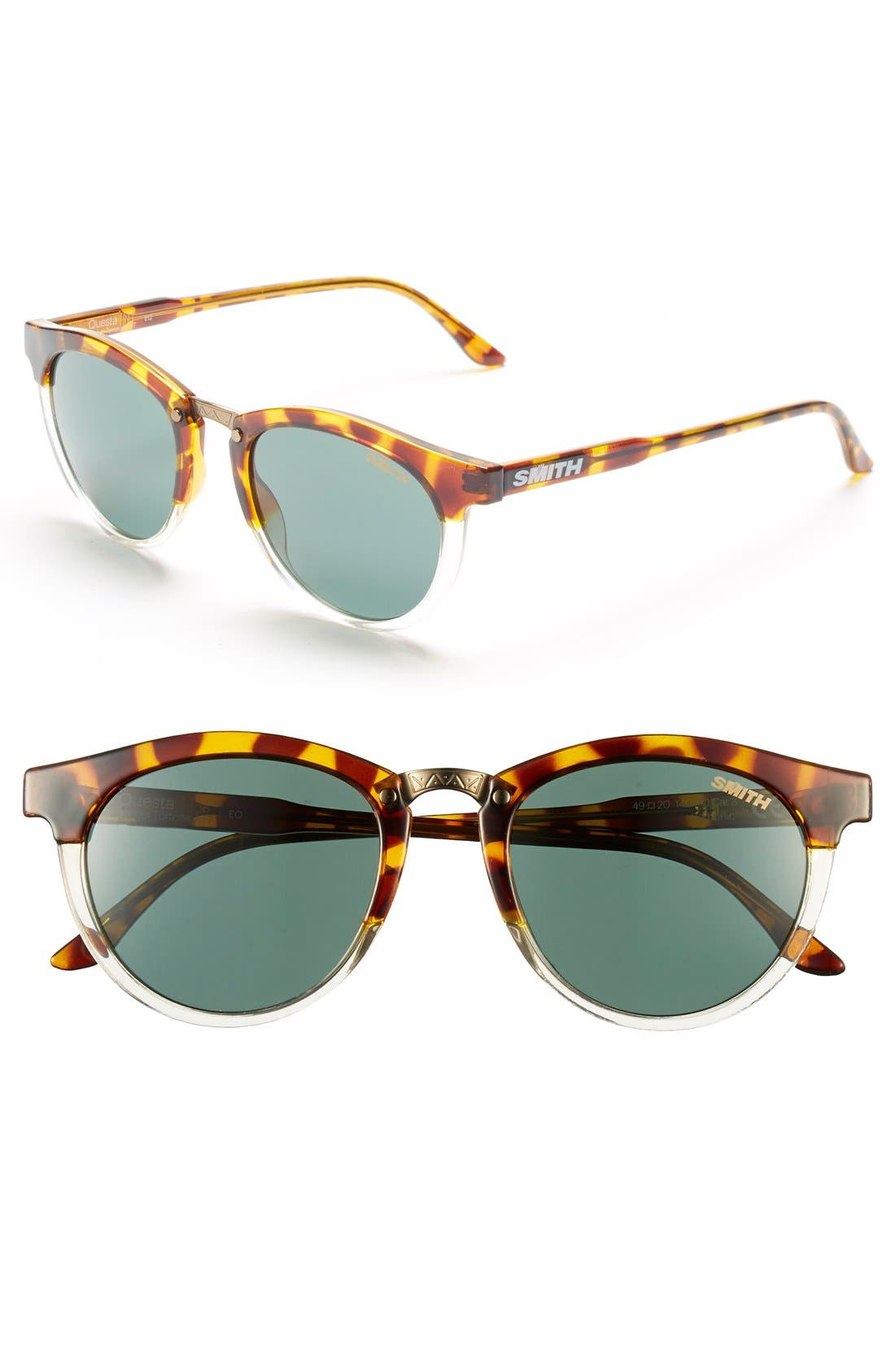 Alternate Image 1 Selected - Smith 'Questa' 49mm Cat Eye Sunglasses