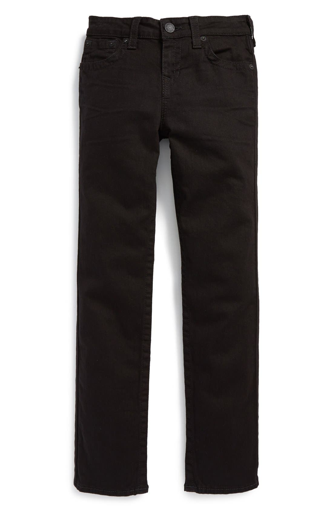 Alternate Image 1 Selected - True Religion Brand Jeans 'Geno' Relaxed Slim Fit Jeans (Big Boys)
