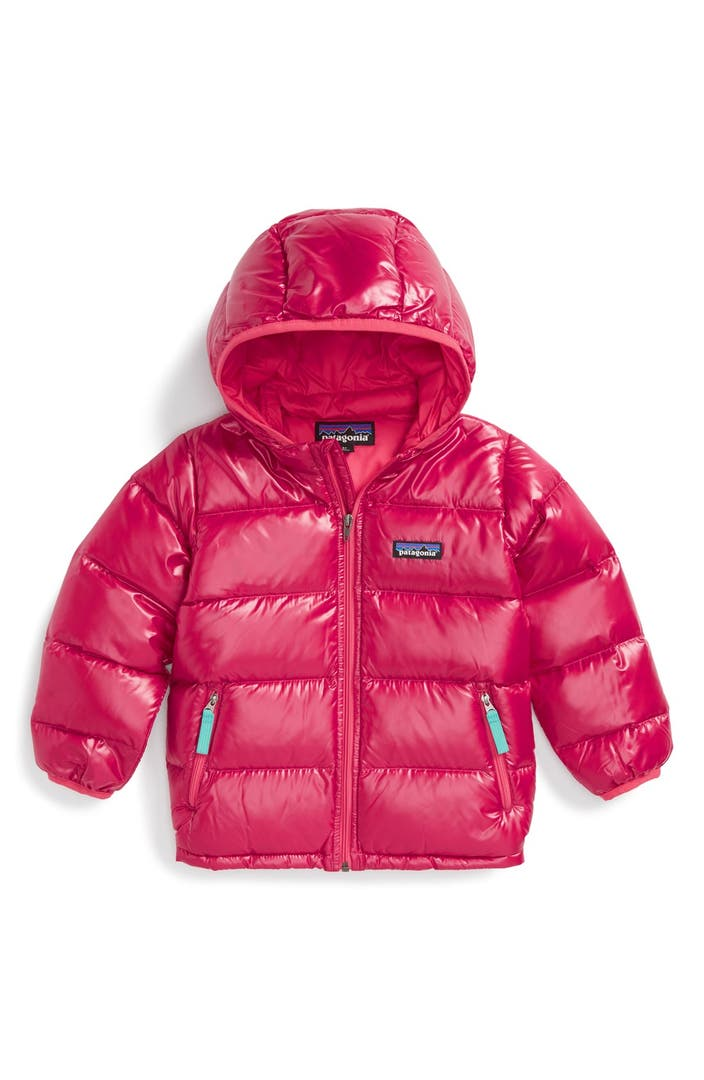 Patagonia Hi Loft Quilted Hooded Down Jacket Toddler