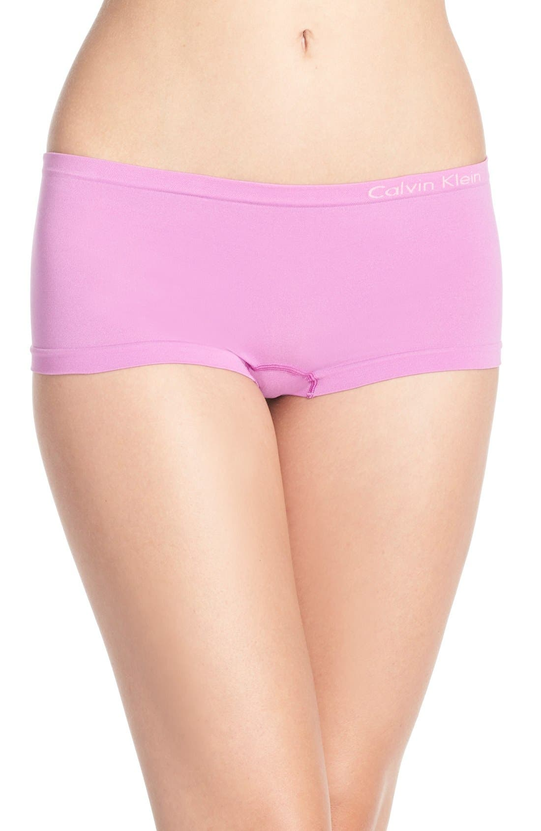 Seamless Hipster Briefs,                         Main,                         color, Intense Lilac/ Kate