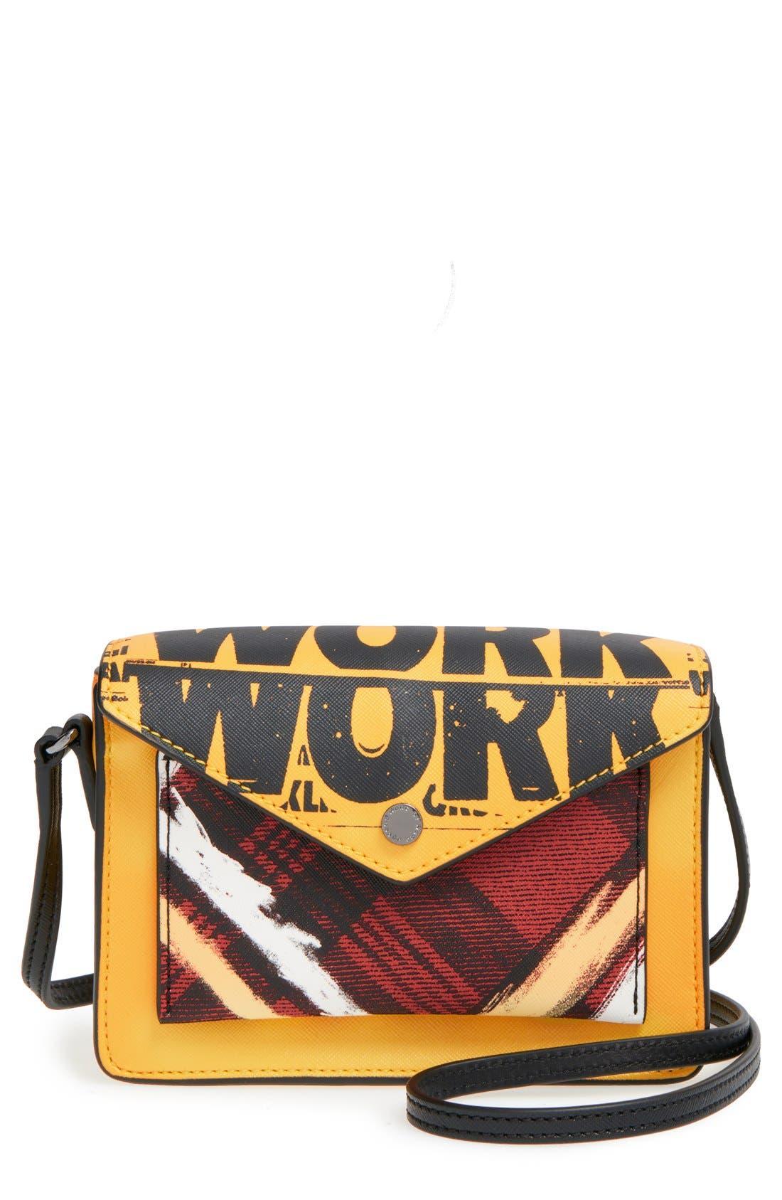 Main Image - MARC BY MARC JACOBS 'Metropoli' Envelope Crossbody Bag