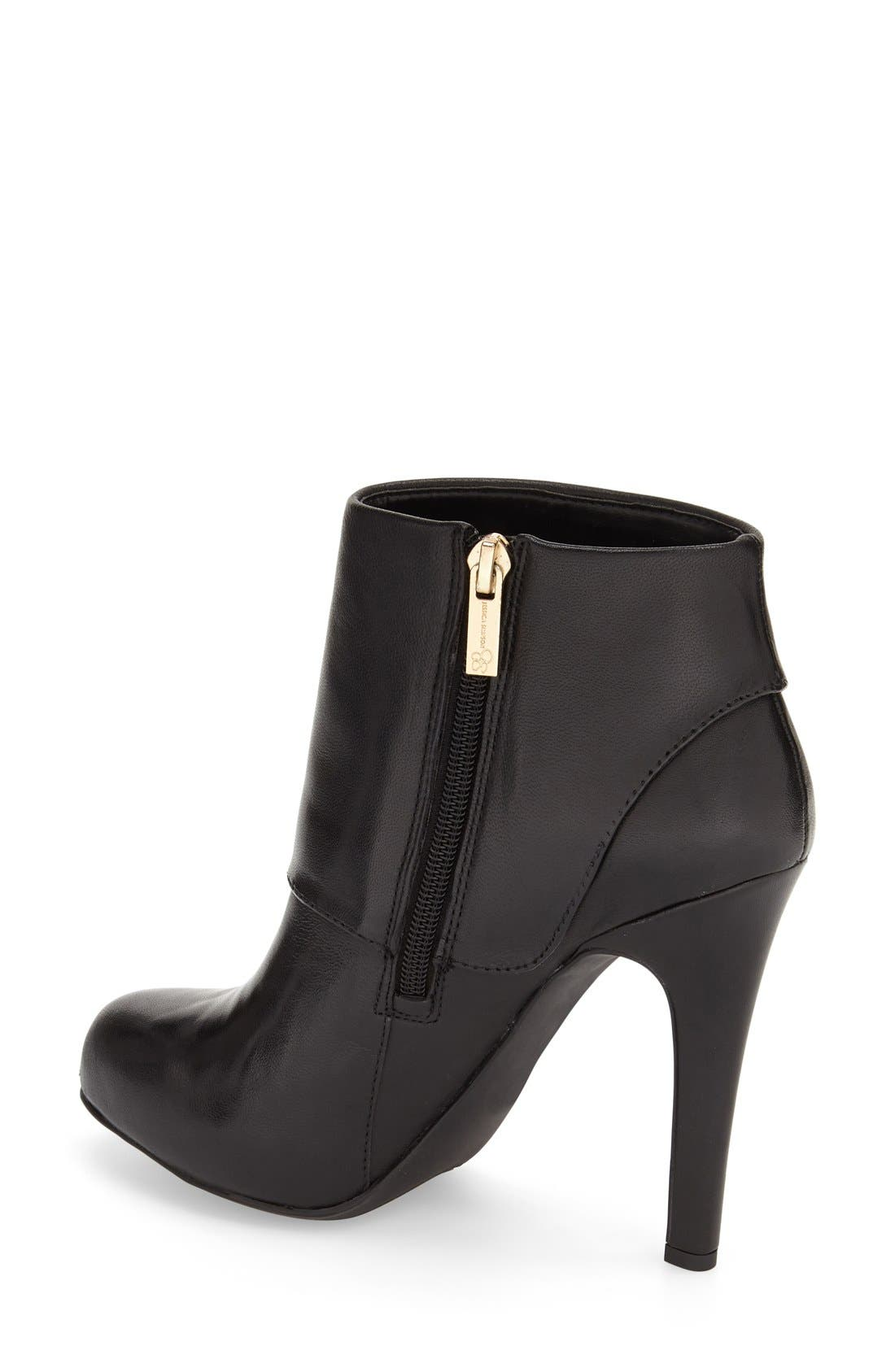 Alternate Image 2  - Jessica Simpson 'Addey' Platform Bootie (Women)