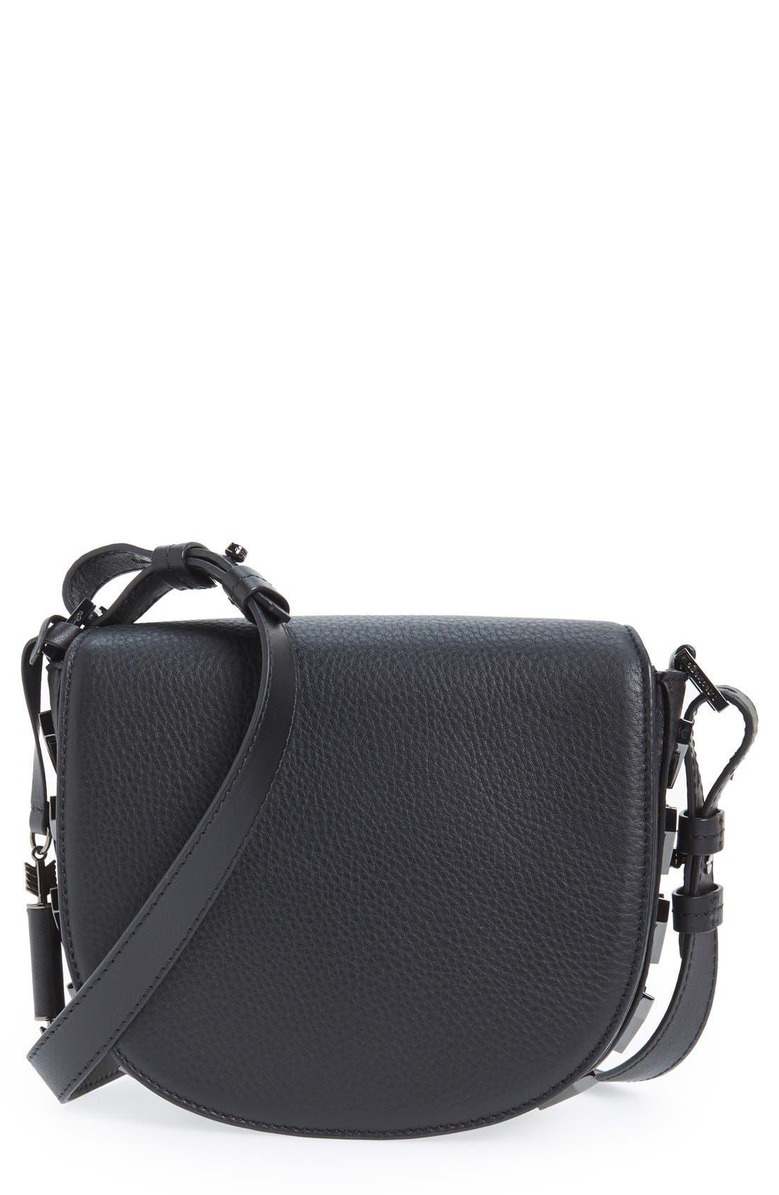 MACKAGE Rima Leather Crossbody Bag