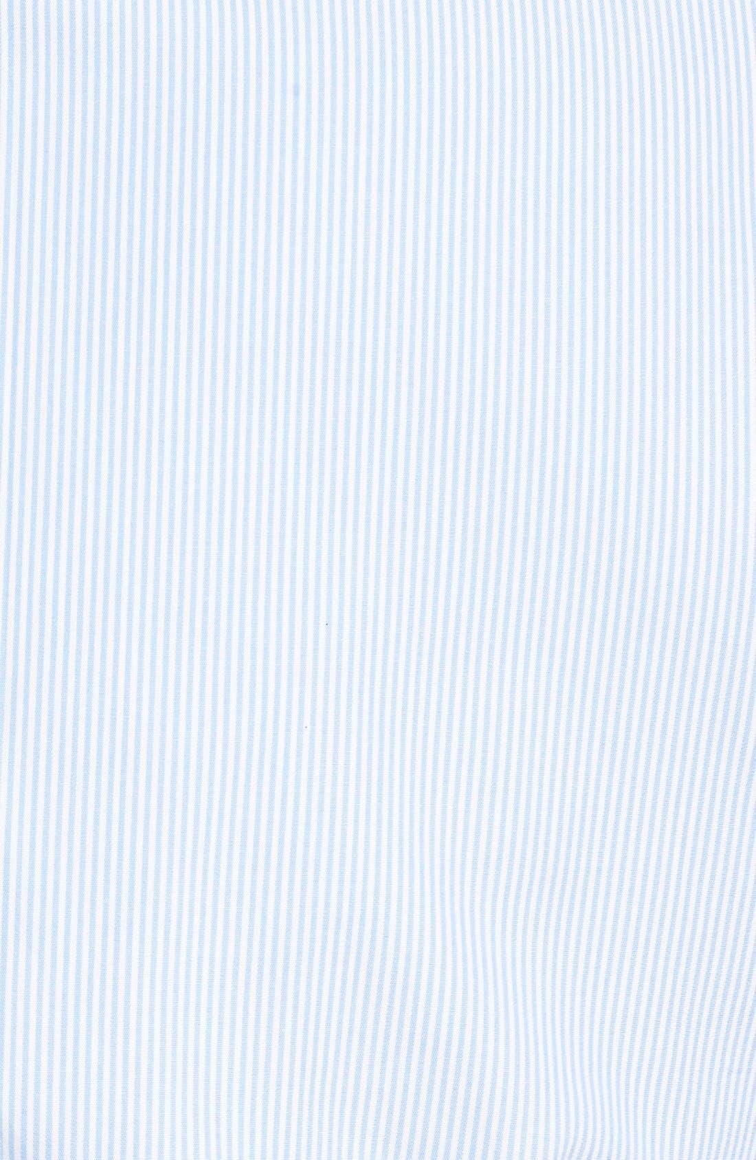 Alternate Image 3  - Calibrate Extra Trim Fit Non-Iron Microcheck Dress Shirt