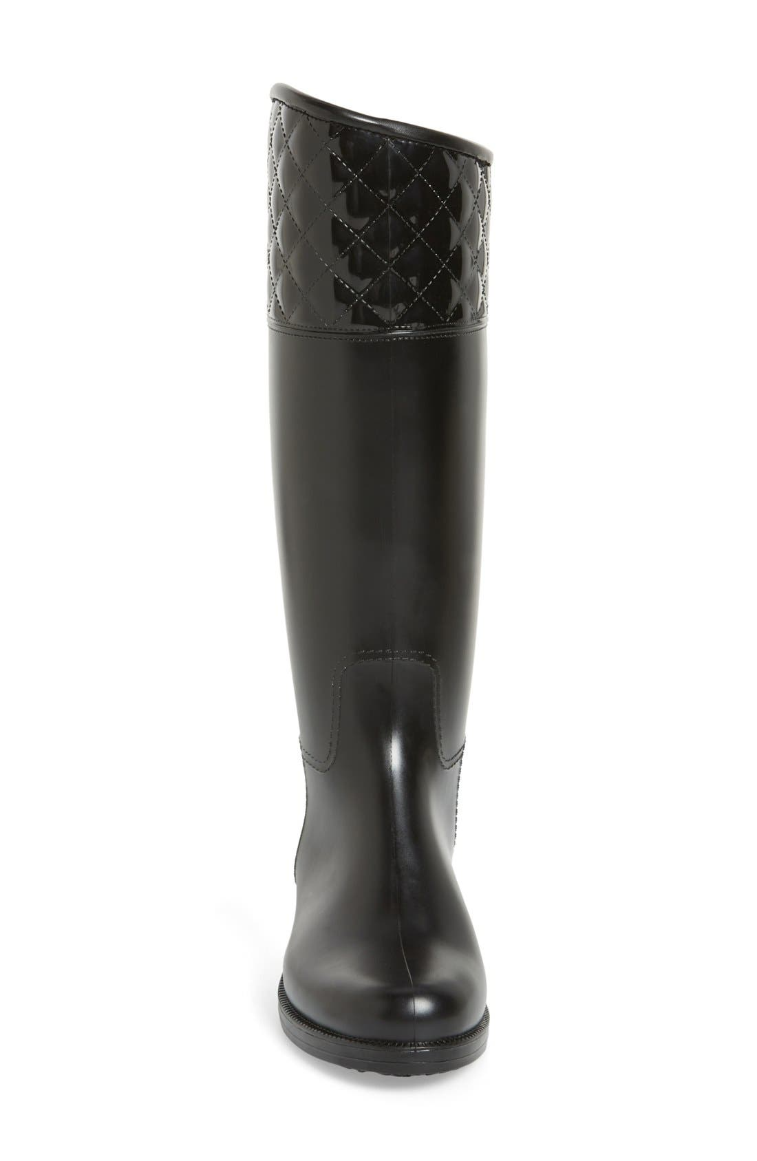 Alternate Image 3  - däv 'Victoria' Waterproof Tall Rain Boot (Women)