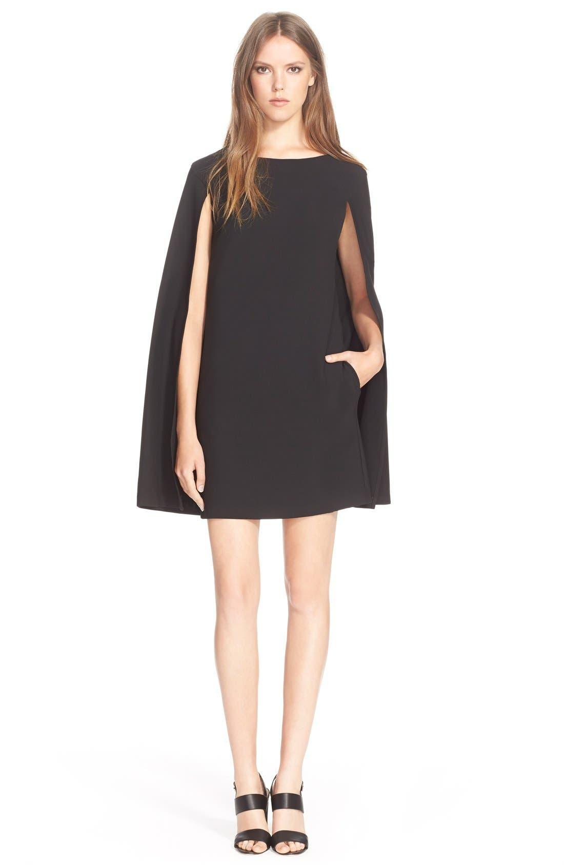 Alternate Image 1 Selected - TrinaTurk'Gizela'Cape Back Dress