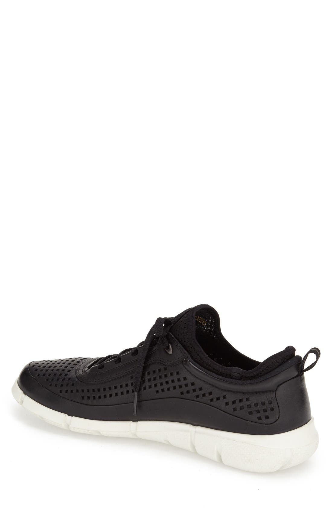 'Intrinsic' Sneaker,                             Alternate thumbnail 2, color,                             Black Leather