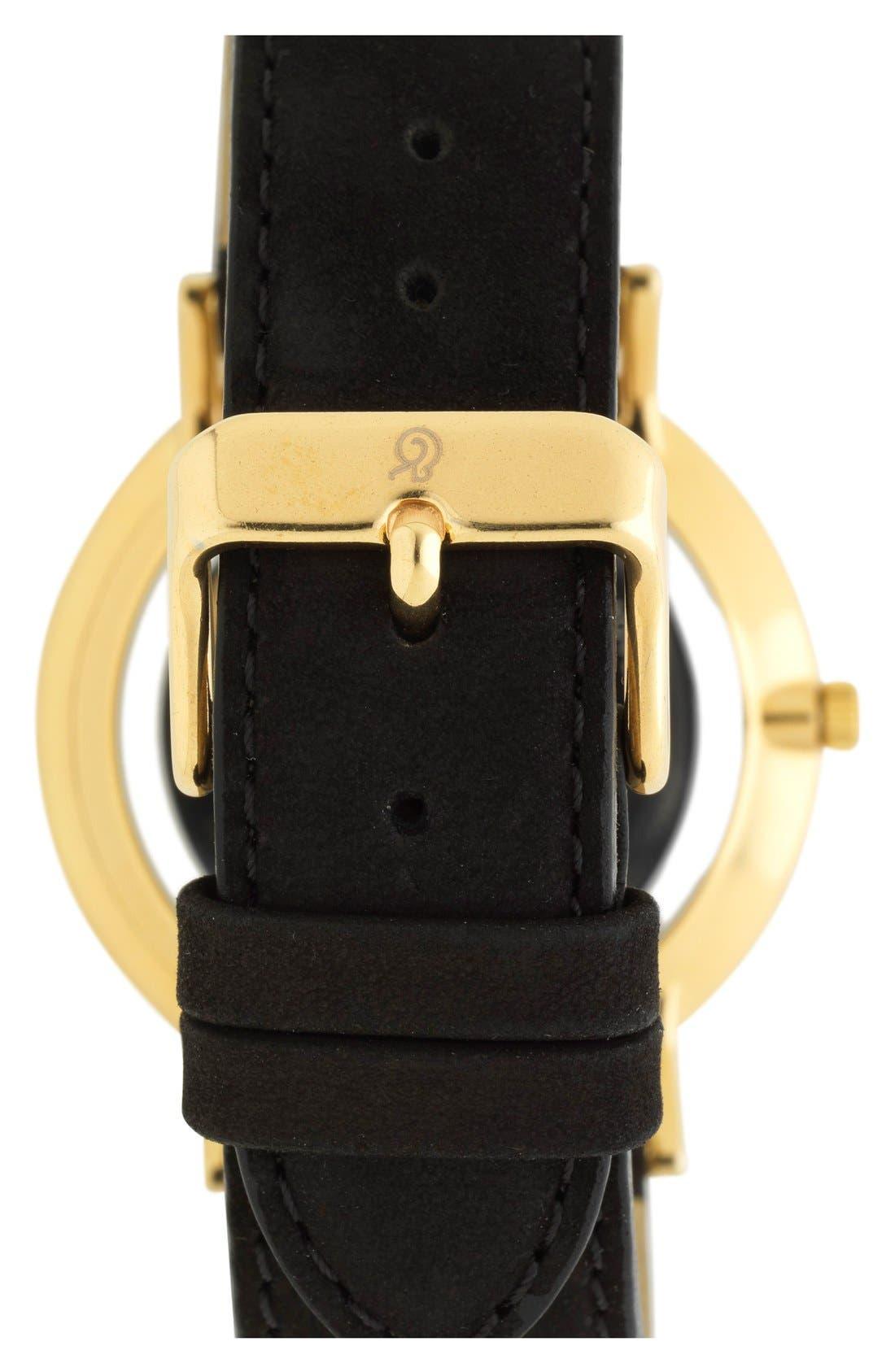 Alternate Image 2  - Larsson & Jennings 'Lugano' Short Strap Leather Watch, 40mm