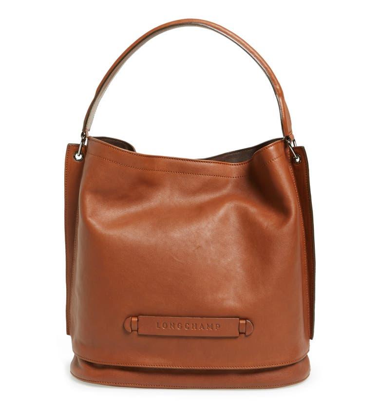 Longchamp Hobo Laukku : Longchamp d leather hobo nordstrom