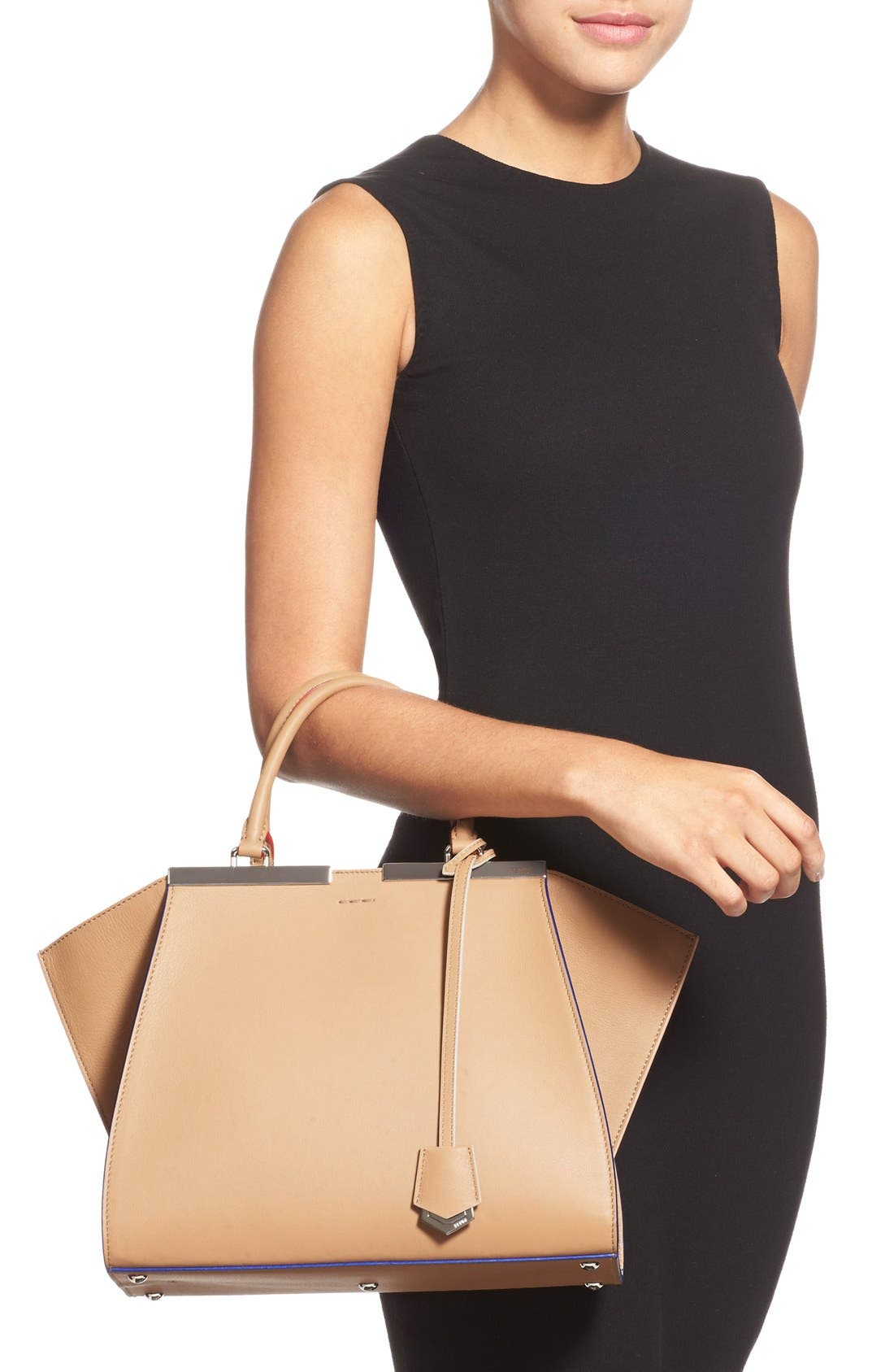 Alternate Image 2  - Fendi '3Jours' Leather Shopper