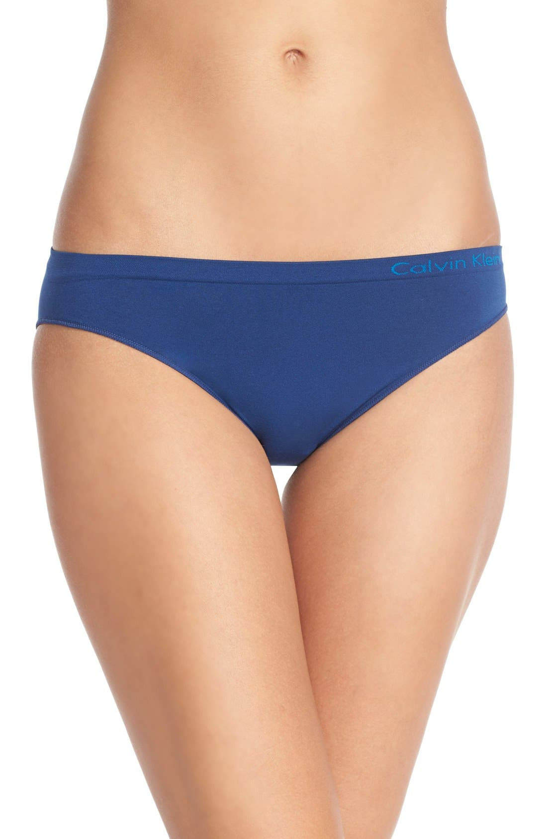 Alternate Image 1 Selected - Calvin Klein Seamless Bikini