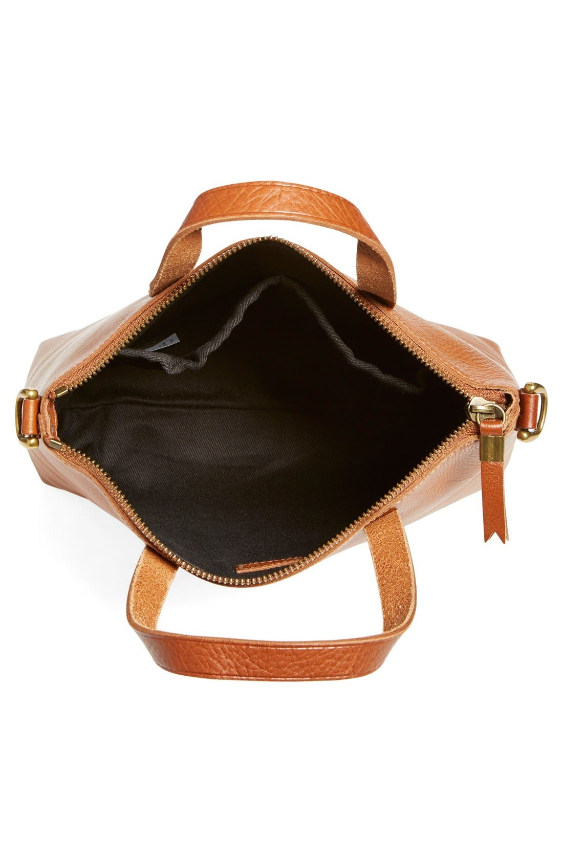 Alternate Image 5  - Madewell The Transport Leather Crossbody Bag