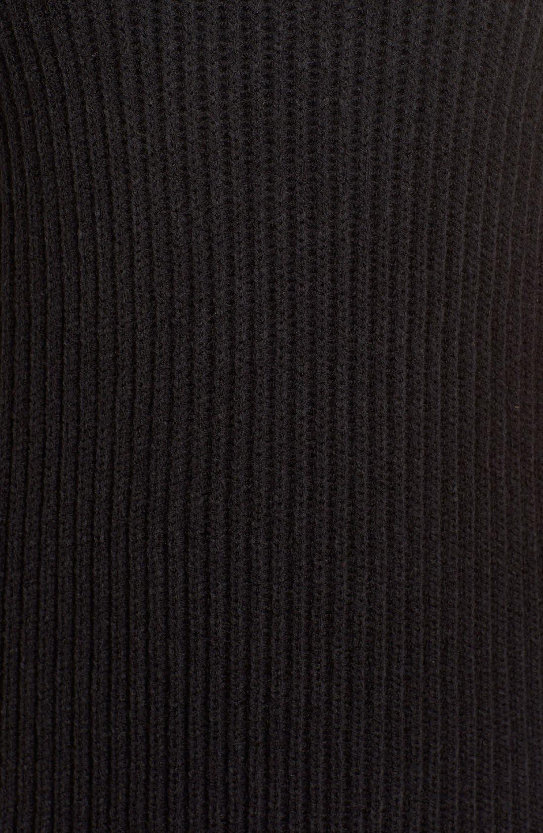 Alternate Image 6  - BB Dakota 'Marisa' Turtleneck Sweater Dress