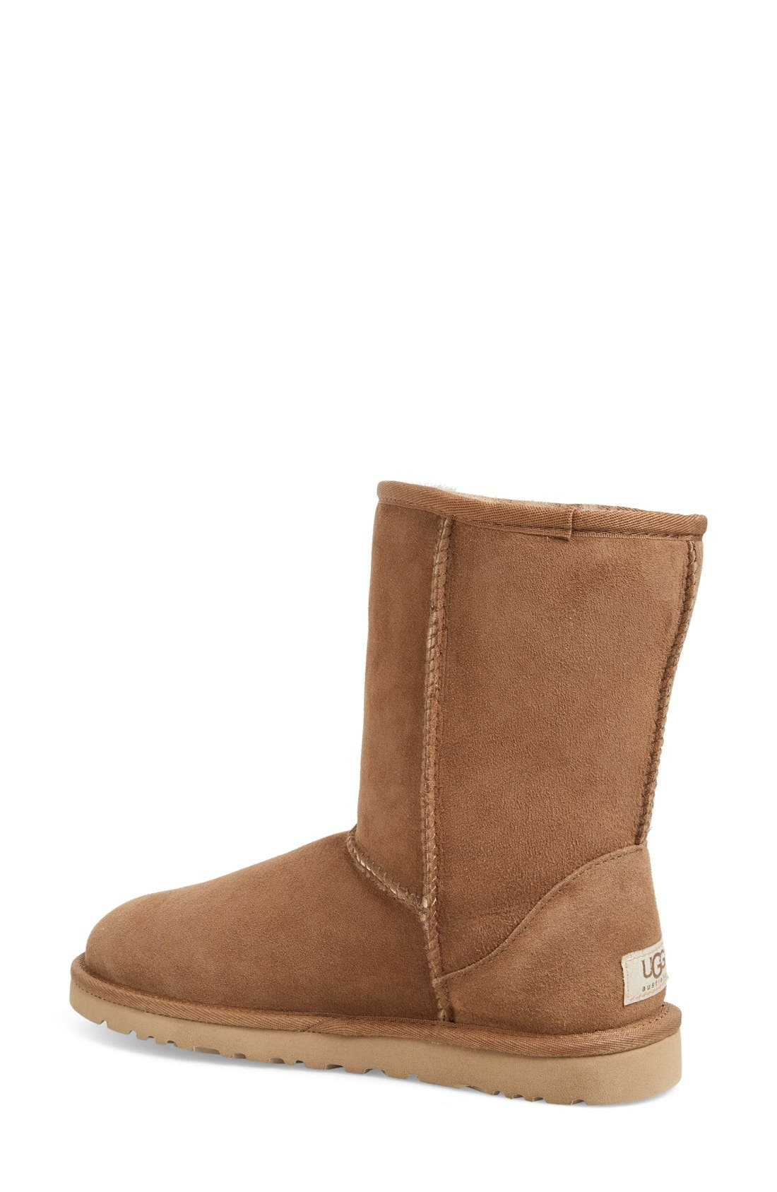 Alternate Image 2  - UGG® 'Classic Short' Boot (Women)