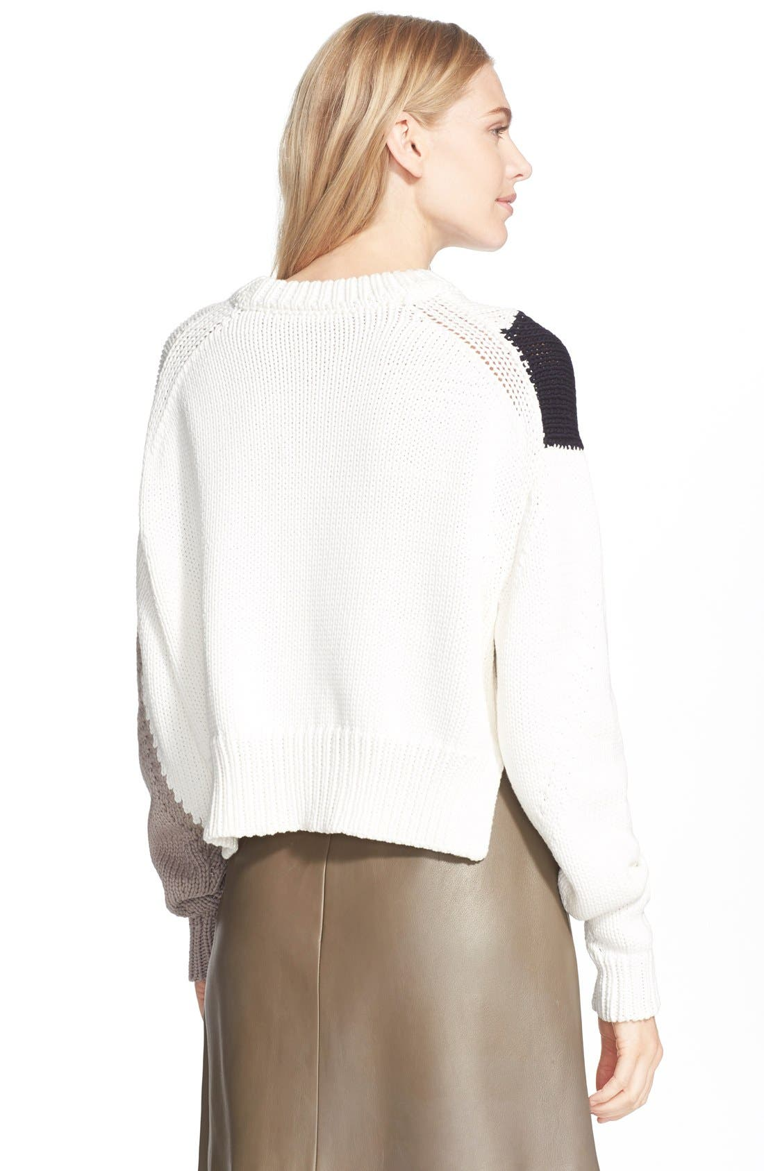 Alternate Image 2  - Tibi Intarsia Sweater