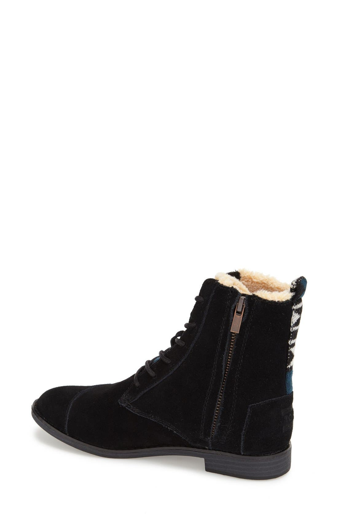 Alternate Image 2  - TOMS 'Alpa' Water Resistant Suede Boot (Women)