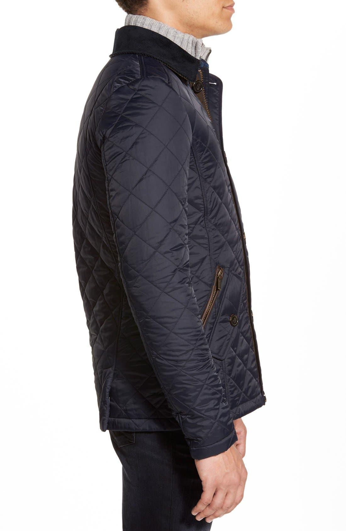 Alternate Image 3  - Barbour 'Fortnum' Regular Fit Quilted Jacket