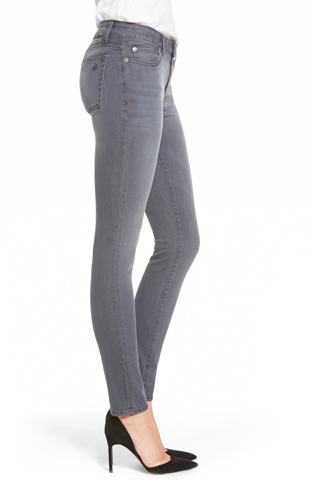 Alternate Image 3  - DL1961 'Florence' Instasculpt Skinny Jeans (Craft)