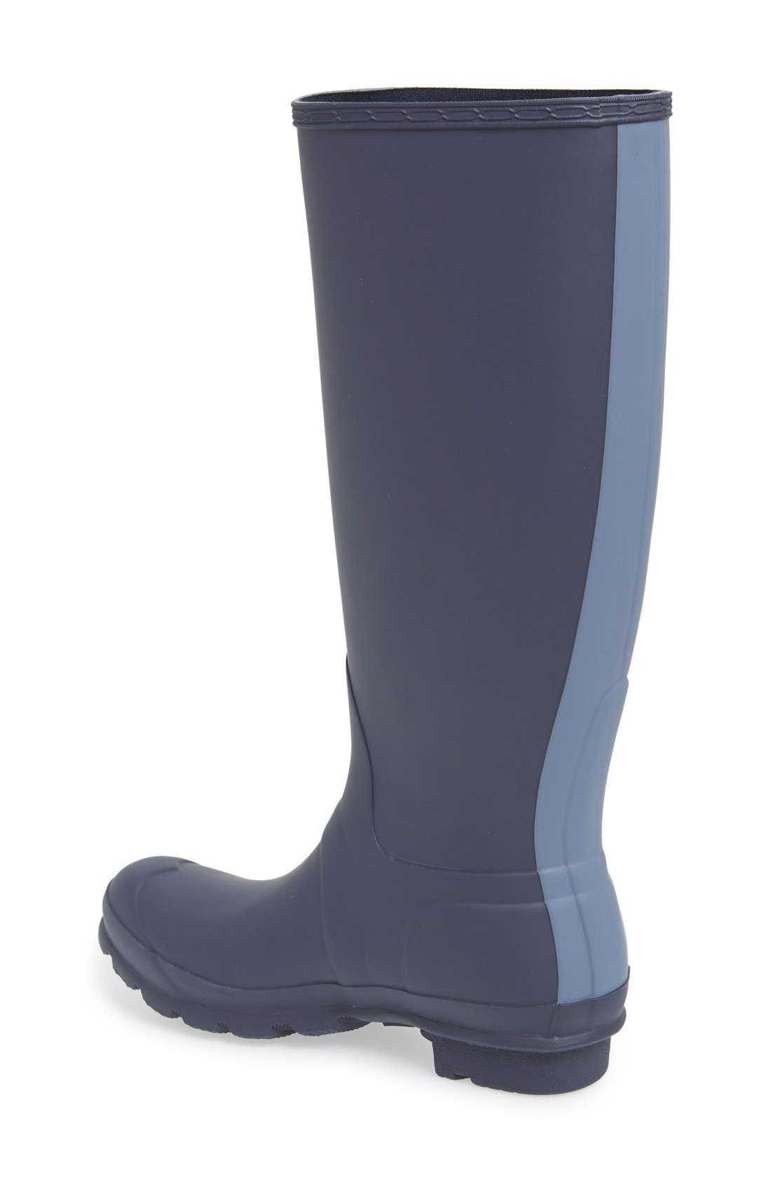 Alternate Image 2  - Hunter 'Original Stripe' Waterproof Rubber Boot (Women)
