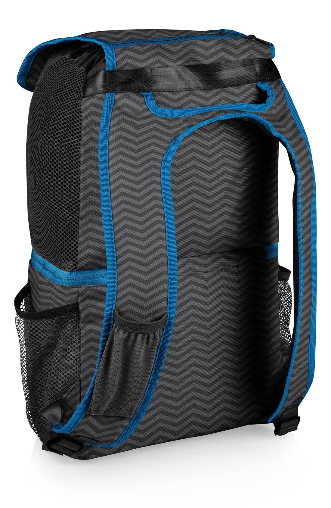 'Pismo' Insulated Cooler Backpack,                             Alternate thumbnail 3, color,                             Grey