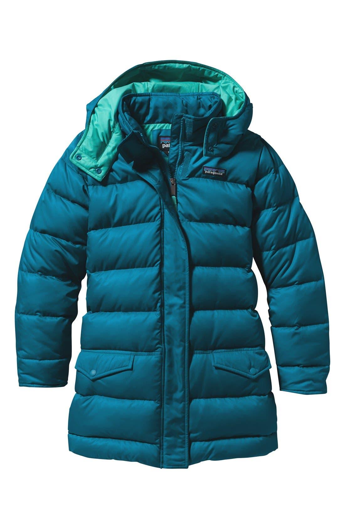 Alternate Image 1 Selected - Patagonia 'Down For Fun' Water Repellent Coat (Little Girls & Big Girls)